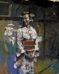 Chajin by Christian Hook - Limited Edition on Canvas sized 38x30 inches. Available from Whitewall Galleries